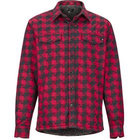 Marmot Ridgefield Langarm Shirt Herren brick